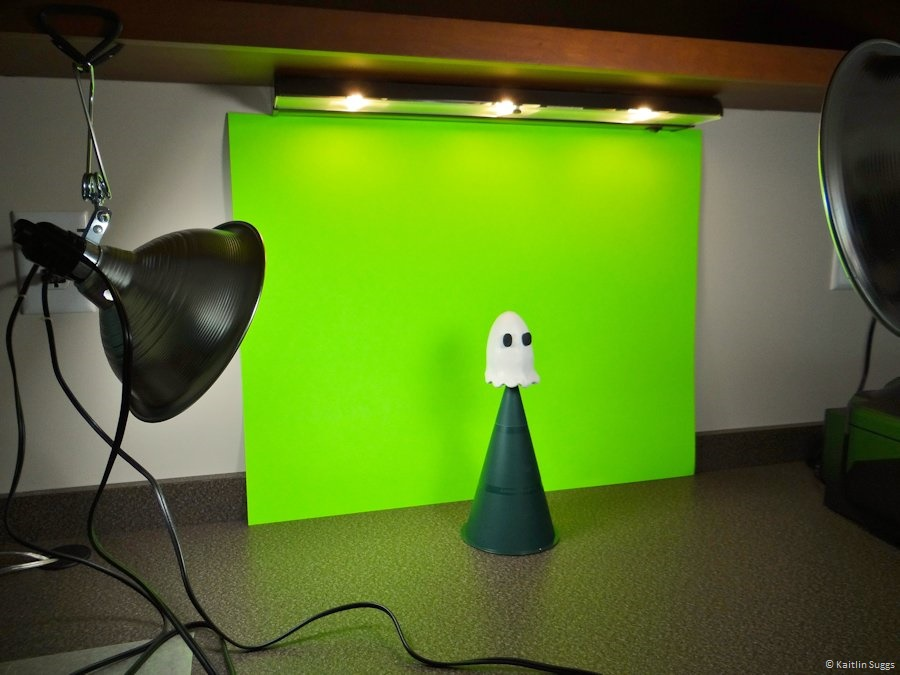 Filming set-up for Bo in How to Haunt: A Beginner's Guide
