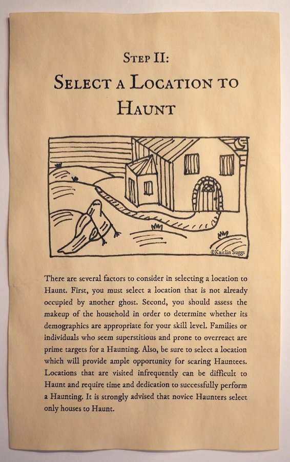 How to Haunt: A Beginner's Guide - Step II: Select a Location to Haunt
