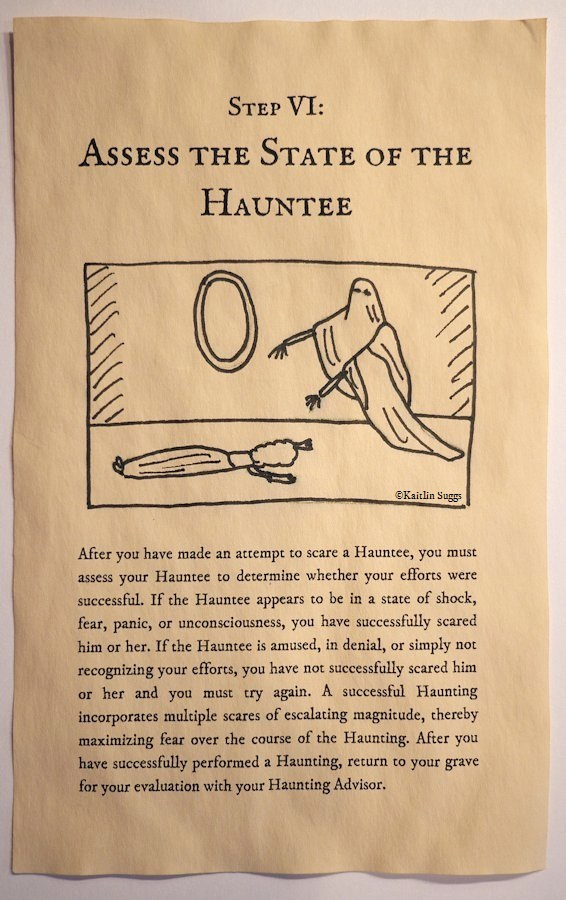 How to Haunt: A Beginner's Guide - Step VI: Assess the State of the Hauntee